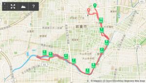 2017/01/03の地図