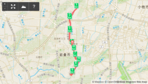 2017/01/04の地図