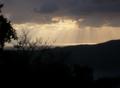 冬の雲間の光1