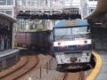 下り貨物 EF210牽引 新井口駅にて