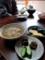 佐渡 チャゲ(お茶粥)で朝食