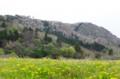 佐渡 小佐渡の春の山並