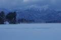 佐渡 大雪後の風景
