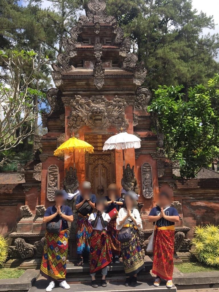 バリ ブキサ寺院