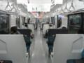 [鉄道]209系2100番台車内(セミクロスシート車)