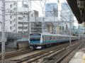 [鉄道][工事]建設中の東北縦貫線橋脚と京浜東北線E233系