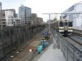 [鉄道][工事]高架化工事中の浦和駅と高崎線211系