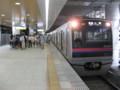 [鉄道]京成日暮里駅上りホーム(1階)に停車中の京成3000形