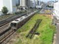[鉄道]JR東西線トンネル入口と片町駅跡地
