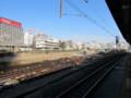 [鉄道][工事]品川駅11・12番線から見田町車両センター再開発