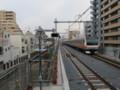 [鉄道][工事]上り線が高架化された中央線と撤去中の旧上り線