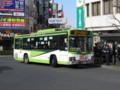 [鉄道][工事]浦和駅高架化工事中の鉄道代行バス(国際興業バス)
