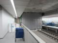 [鉄道][工事]東京メトロ副都心線渋谷駅の間仕切り撤去工事