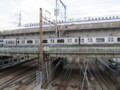 [鉄道]大崎付近を走る横須賀線E217系と東海道新幹線N700系