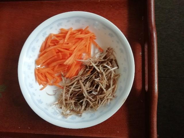 ごぼう にんじん サラダ