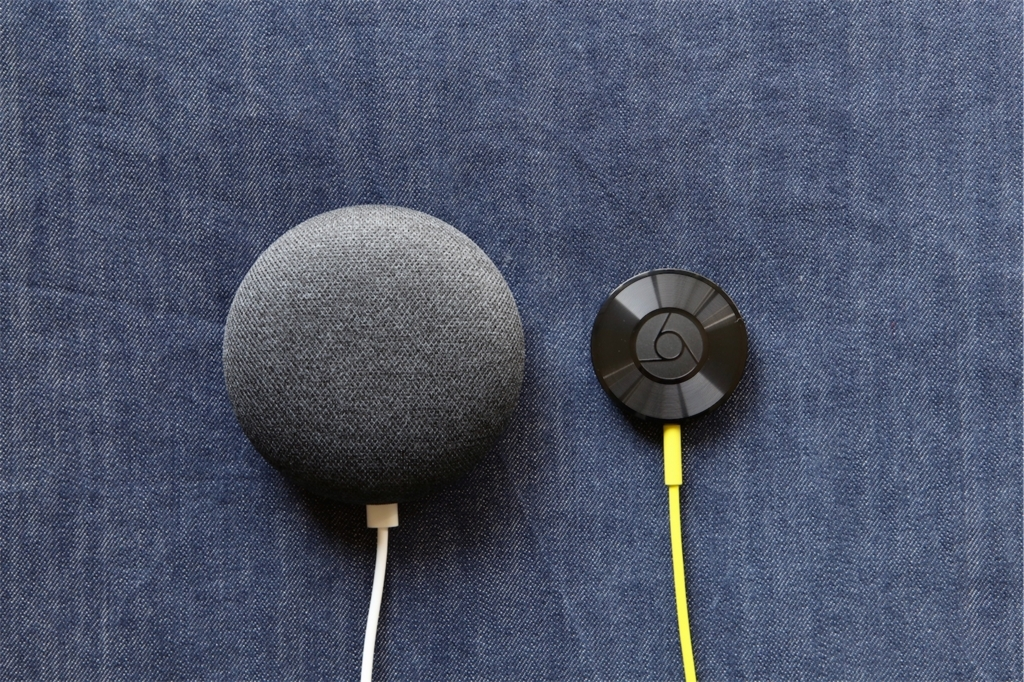 google home おすすめ chromecast audio