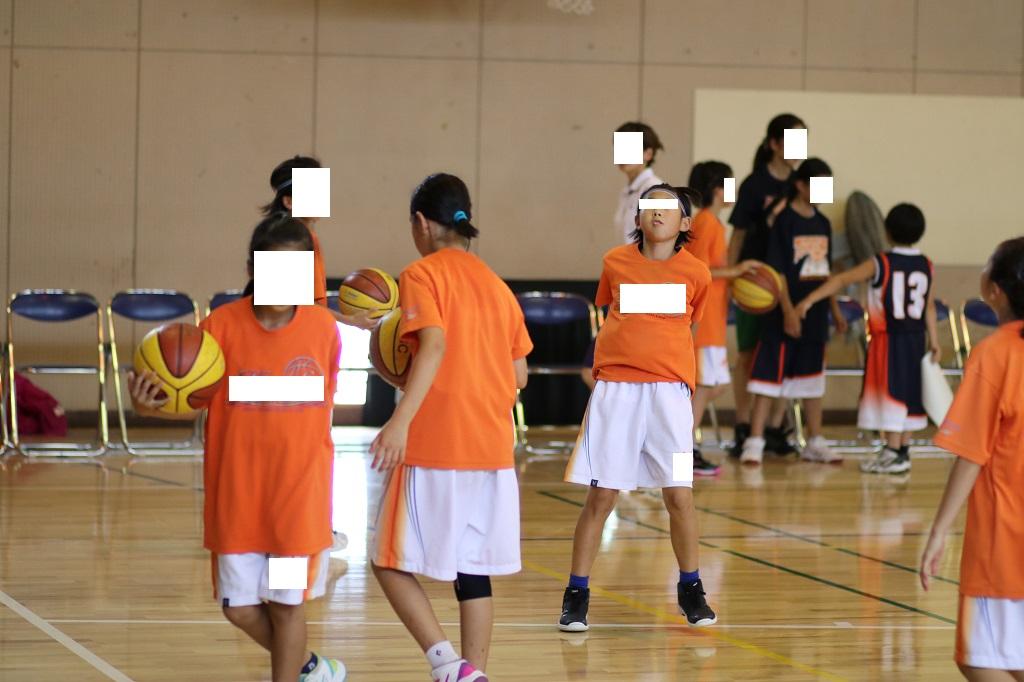 女子ミニバスケットボール写真 カメラ 撮影
