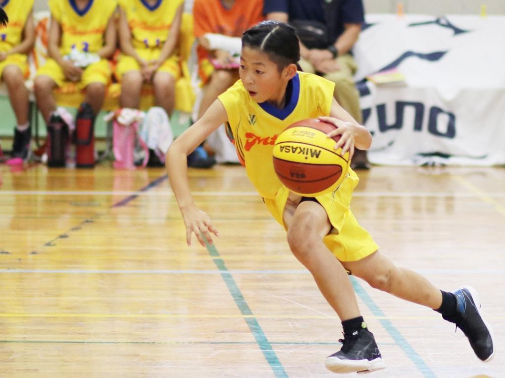 女子ミニバスケットボール写真 撮影