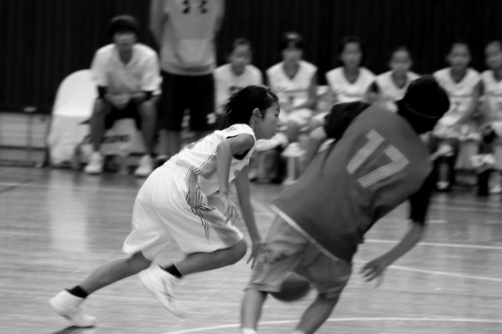 EOS 80Dで撮影したミニバスケットボール写真 Basketball Photo