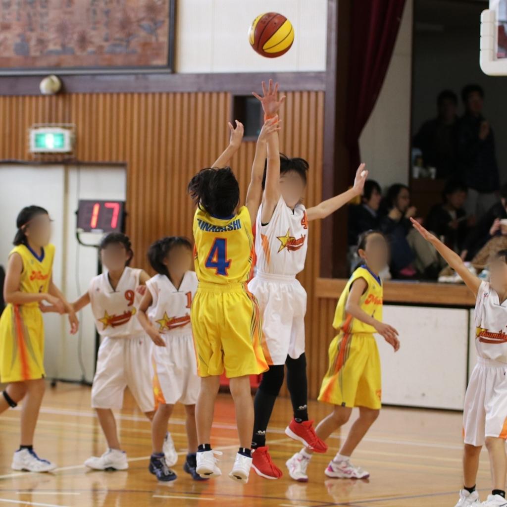 EOS 80D+50-100mm F1.8で撮影したミニバスケットボール写真Basketball Photo