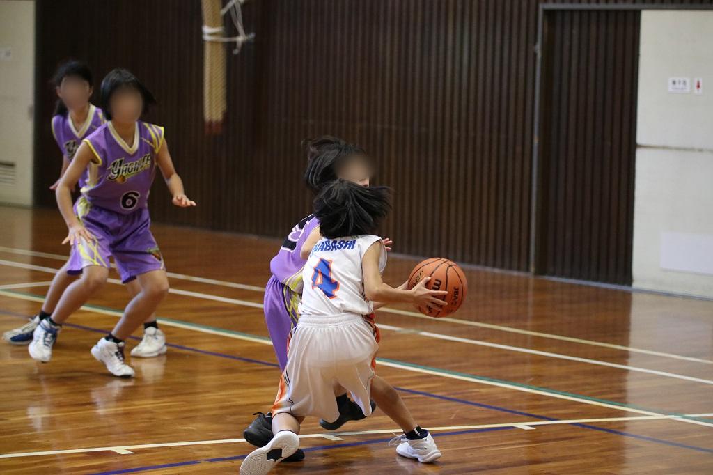 EOS 80D+50-100mm F1.8で撮影したミニバスケットボール写真 Basketball Photo