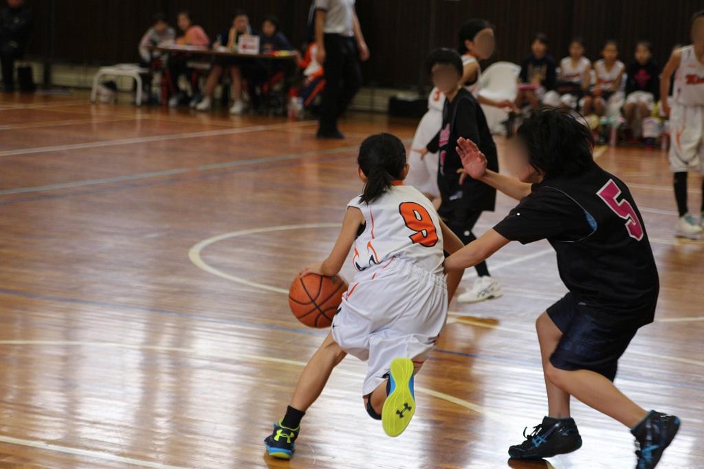 Canon Eos Kiss X7i + Canon EF 50mm F1.8 STMで撮影したミニバスケットボール写真