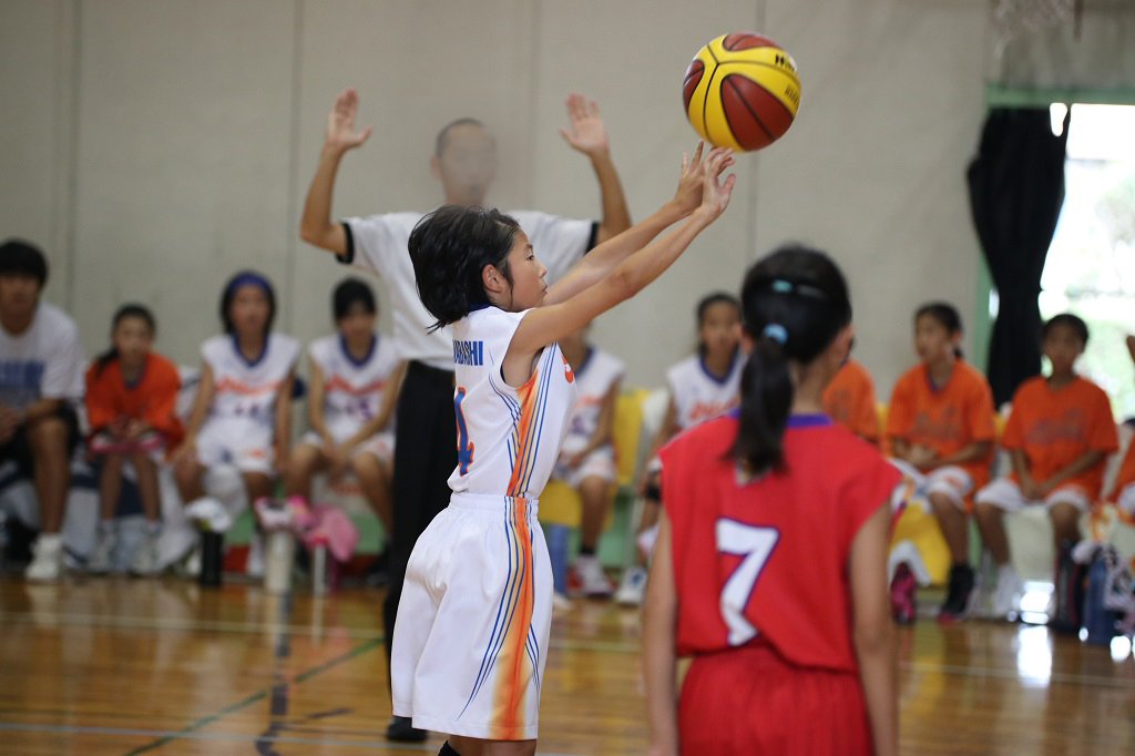 Canon Eos 80D + Sigma 50-100mm F1.8で撮影したミニバスケットボール写真