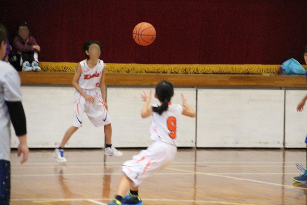 Canon Eos Kiss X7i + Tamron 18-200mm f3.5-6.3で撮影したミニバスケットボール写真