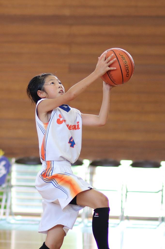 EOS 80D + EF 85mm F1.8で撮影したミニバスケットボール写真 Basketball Photo