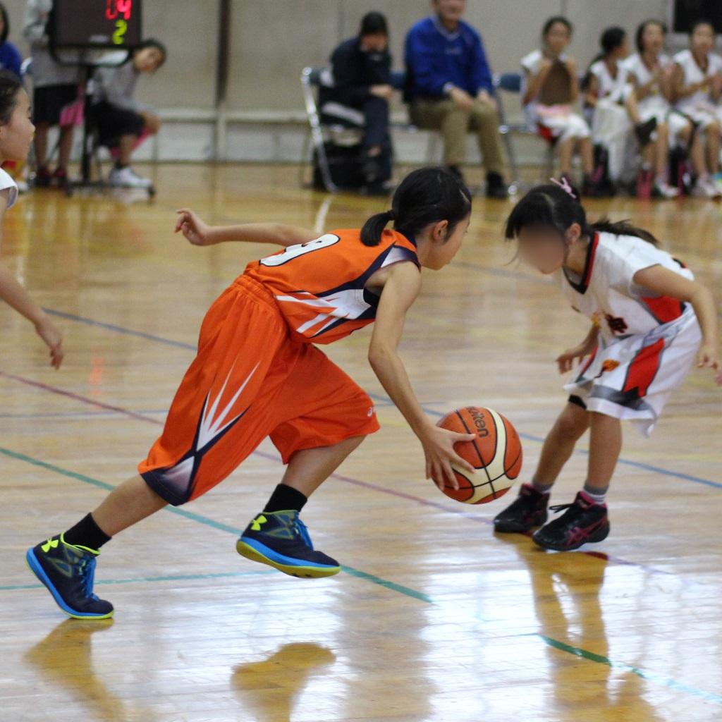 EOS Kiss X7i + EF 50mm F1.8で撮影したミニバスケットボール写真 Basketball Photo