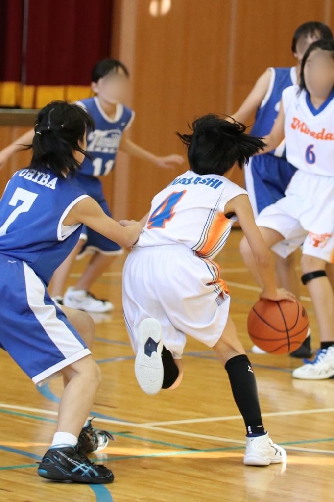 EOS 80D + sigma 50-100mm F1.8で撮影したミニバスケットボール写真 Basketball Photo