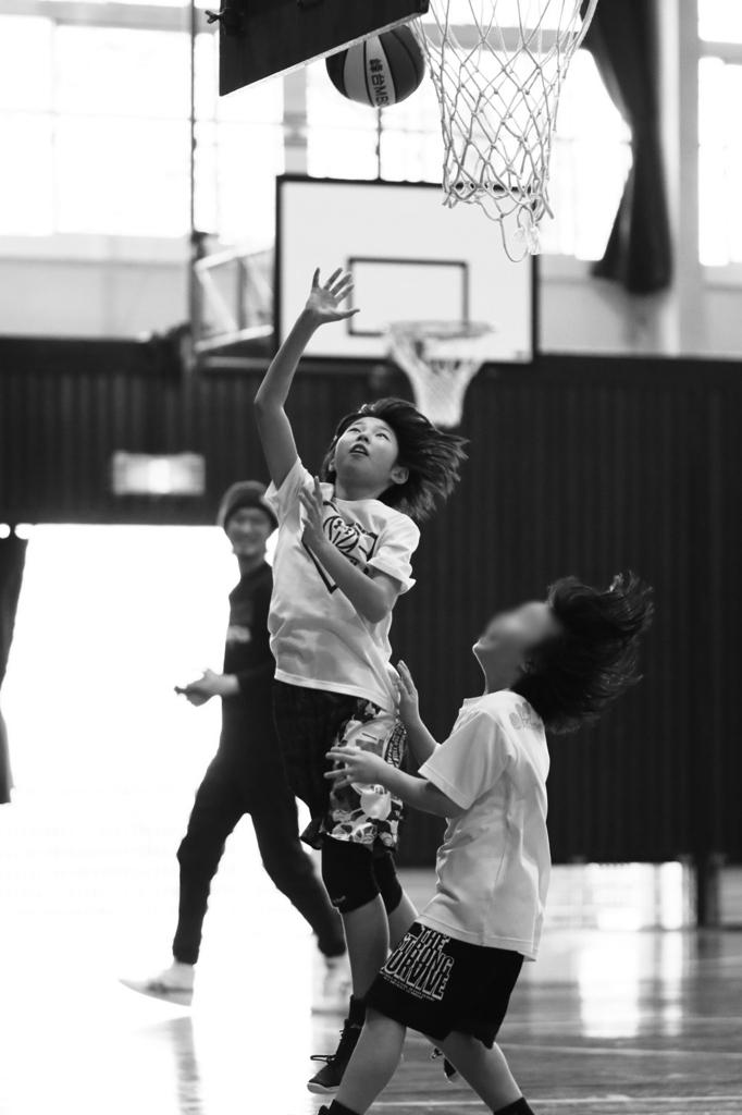 女子ミニバスケットボール写真 Canon EOS 80D + Canon EF85mm F1.8 USM