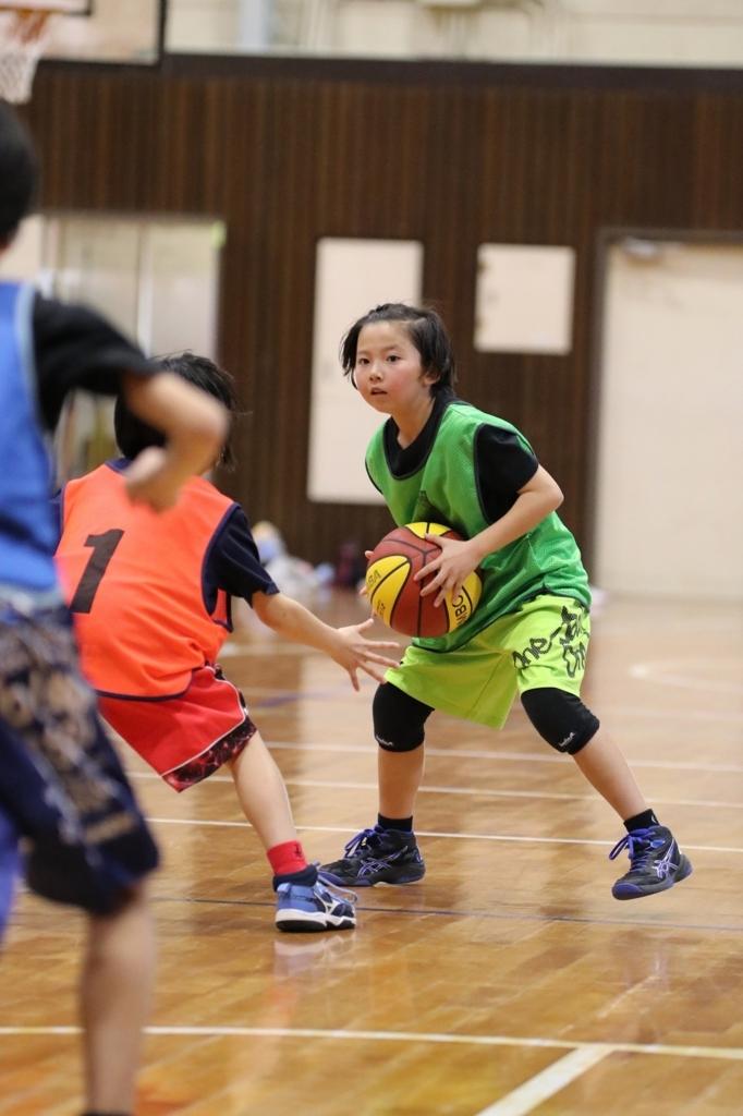 女子ミニバスケットボール写真 Canon EOS 80D + SIGMA 50-100mm F1.8 DC HSM Art