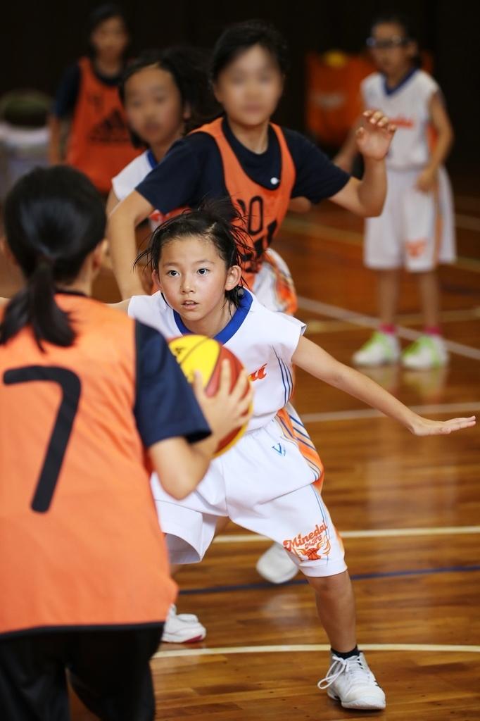 女子ミニバスケットボール写真 SIGMA 50-100mm F1.8 Art