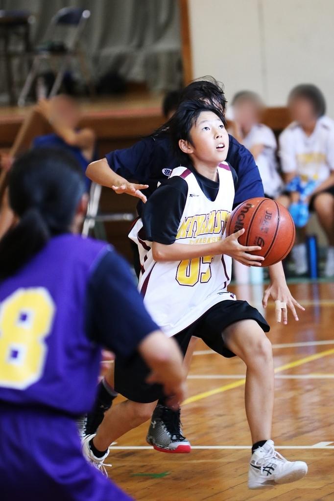 女子ジュニアバスケットボール写真 by たまの休日 千葉県船橋市