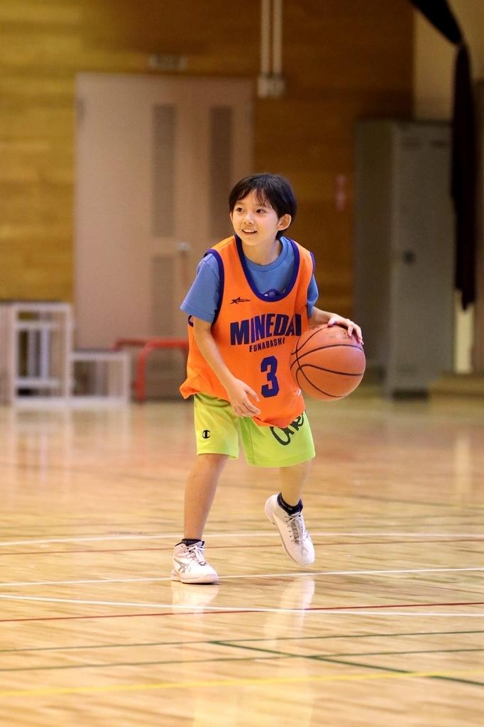 女子ミニバスケットボール写真 byたまの休日