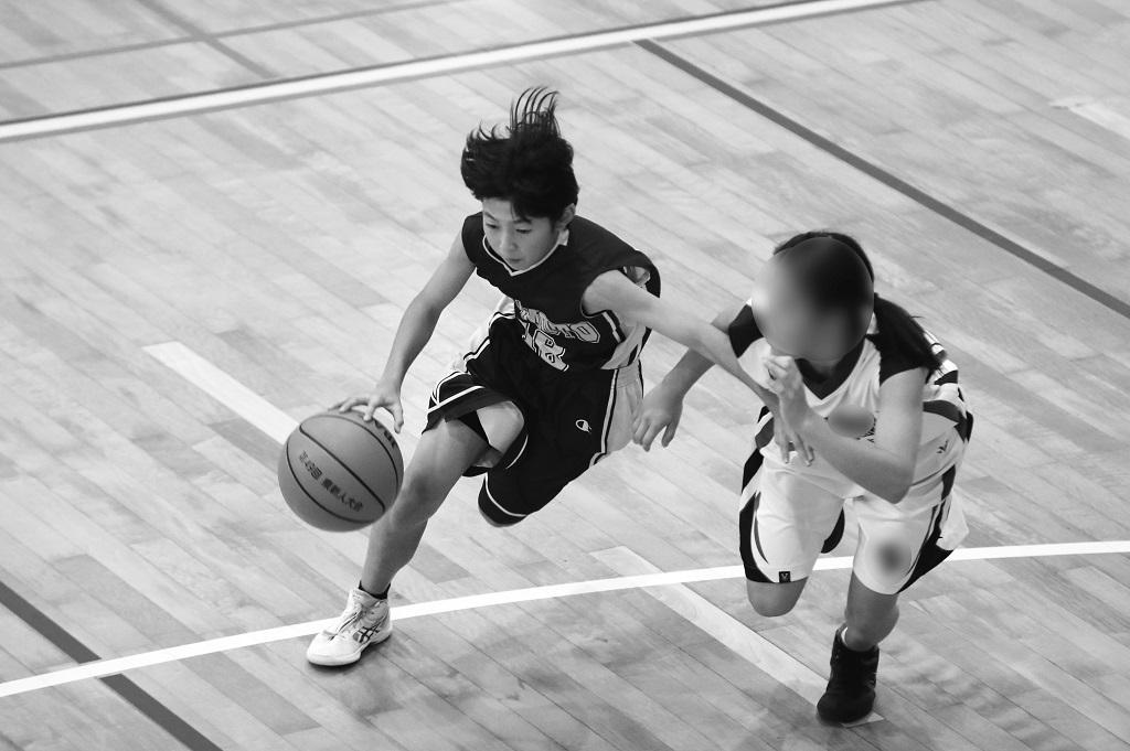 女子中学校ジュニアバスケットボール写真 byたまの休日