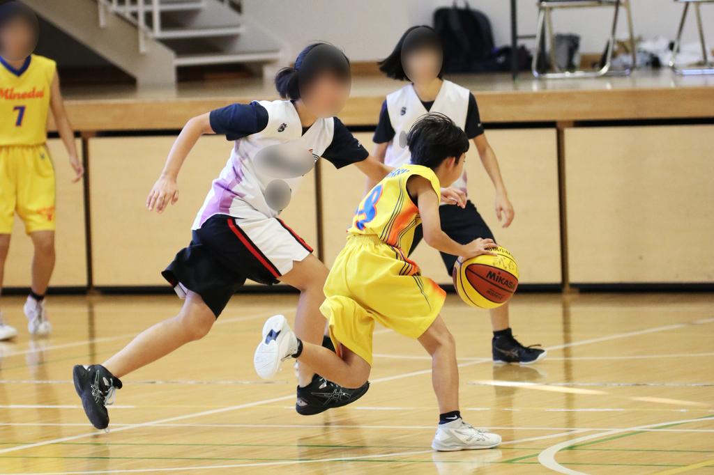 女子バスケットボール写真 byたまの休日 千葉県船橋市