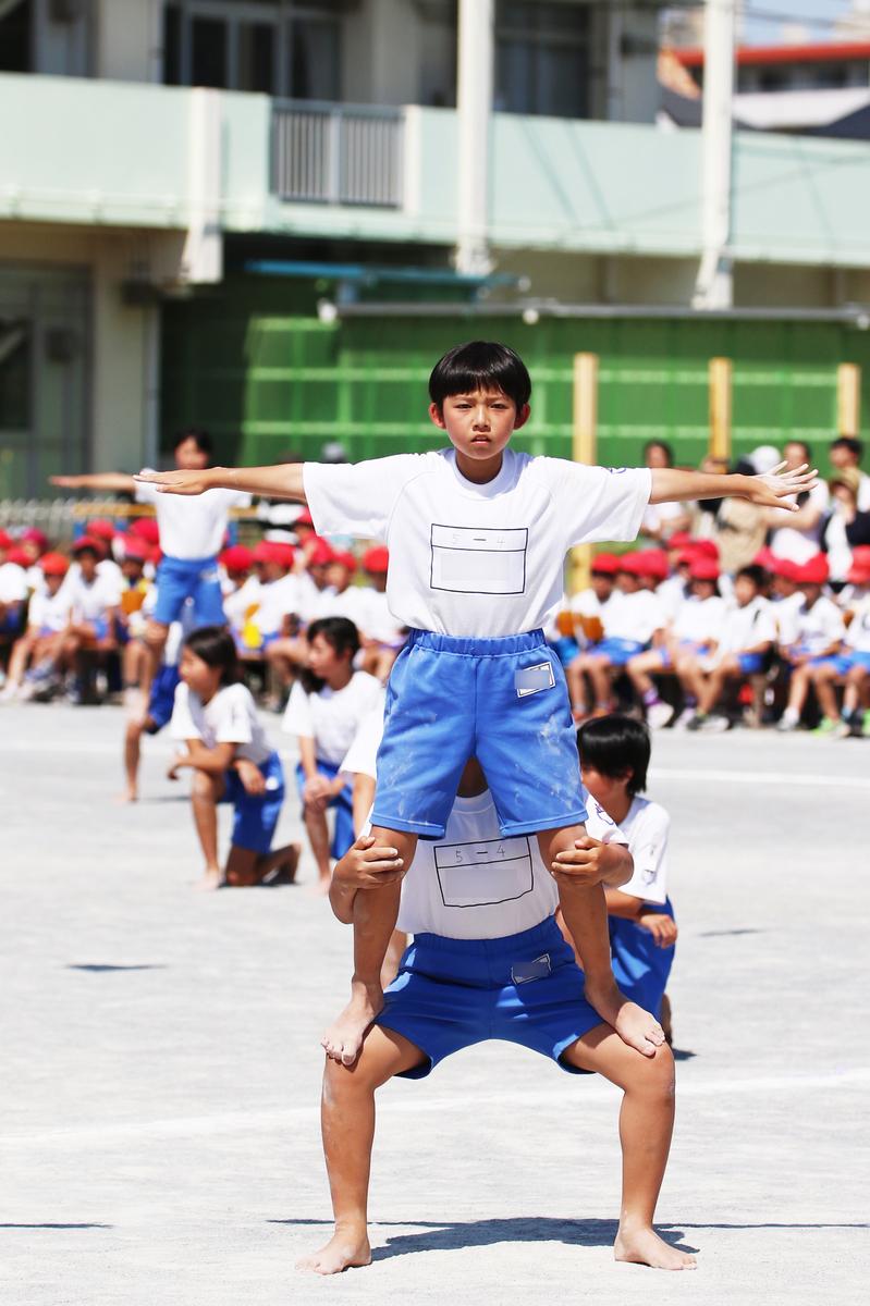 小学校運動会 組体操