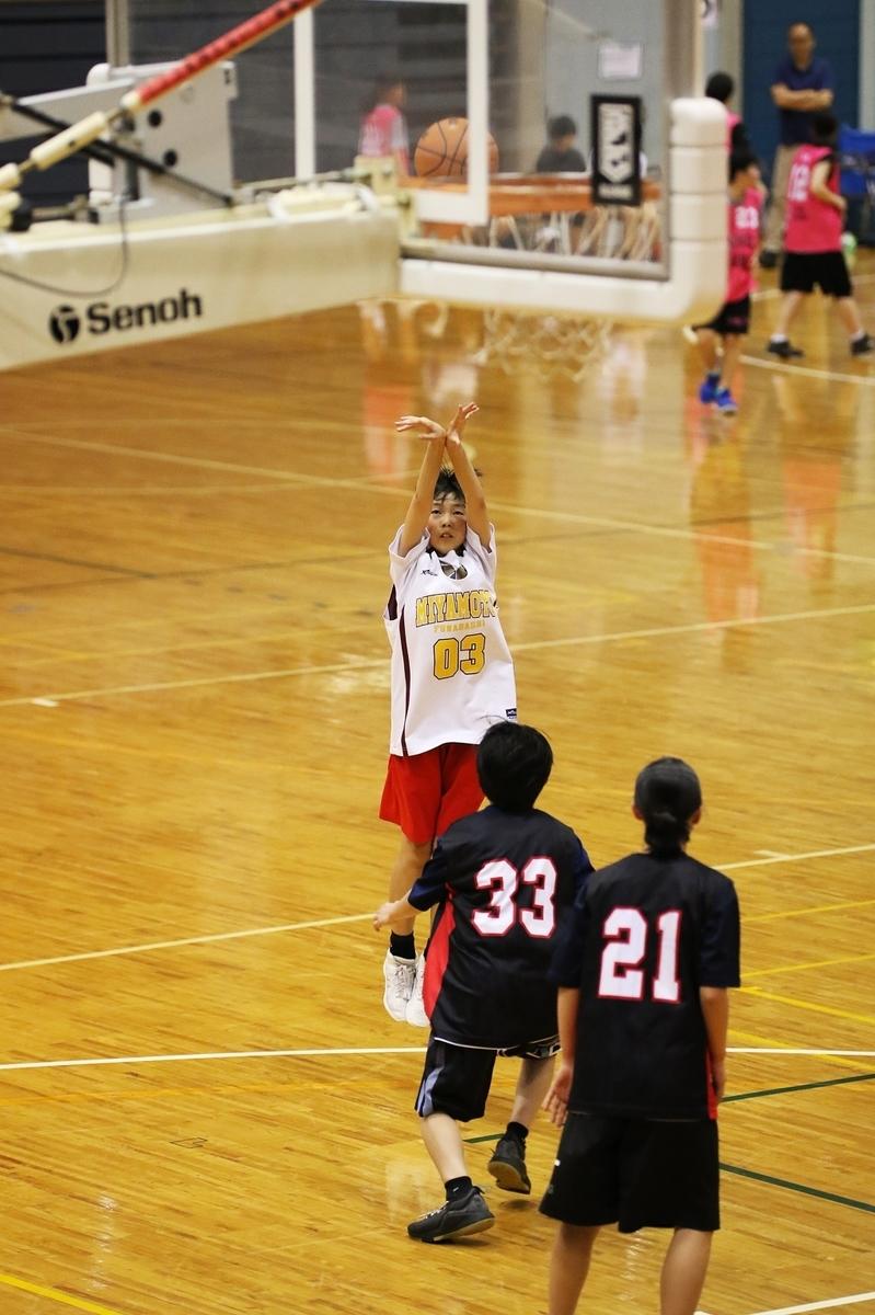 女子中学校ジュニアバスケットボール写真 by たまの休日 千葉県船橋市