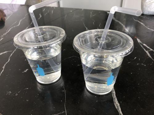 ブルーボトルコーヒーのお水サービス