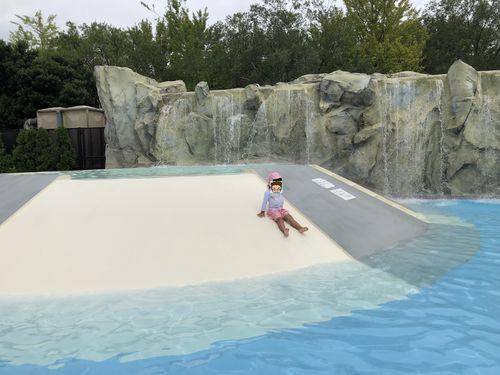 東武スーパープールの幼児プール