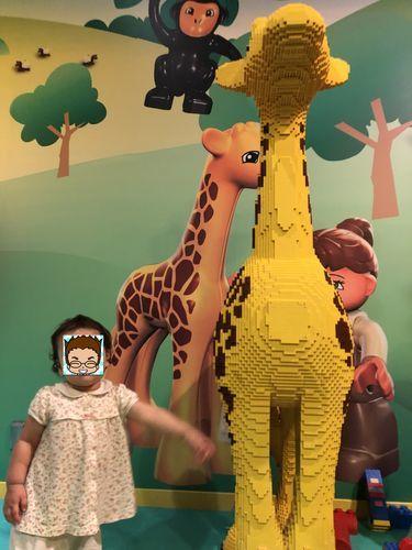 レゴランド東京のレゴの動物