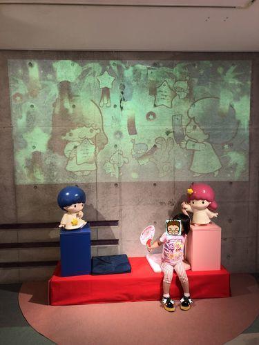サンリオキャラクターのフォトスポット