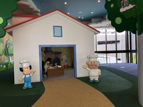 仙台アンパンマンミュージアムの展示