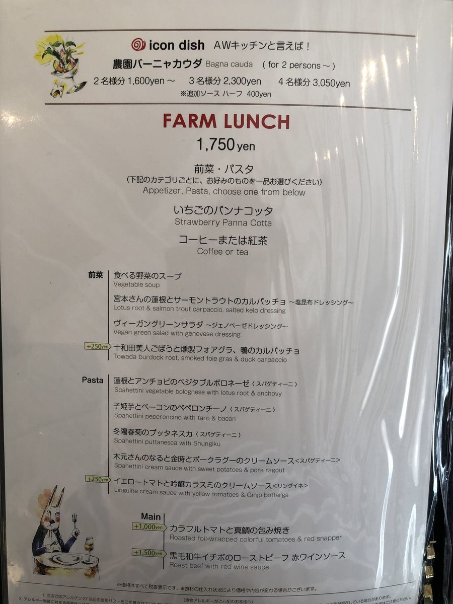 FARM LUNCH