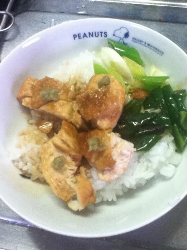 鶏肉の甘辛照り焼きのっけご飯