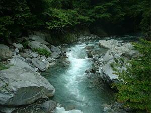 日原川・白妙橋