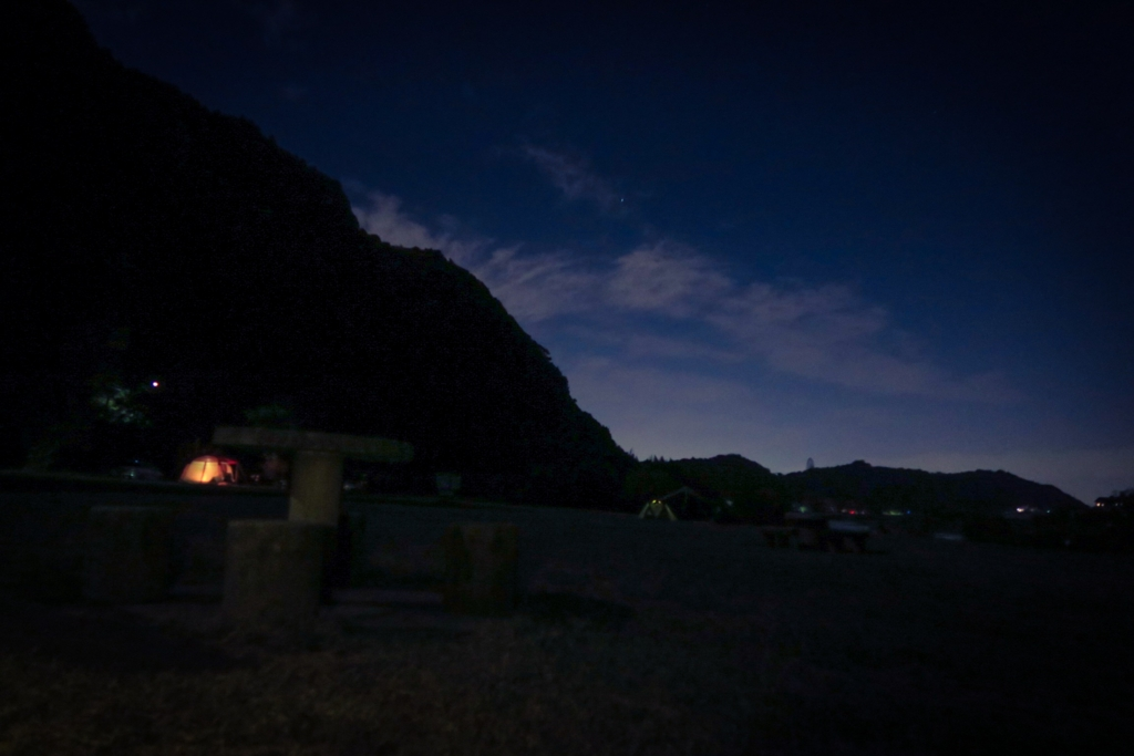 桃太郎公園ナイトキャンプ