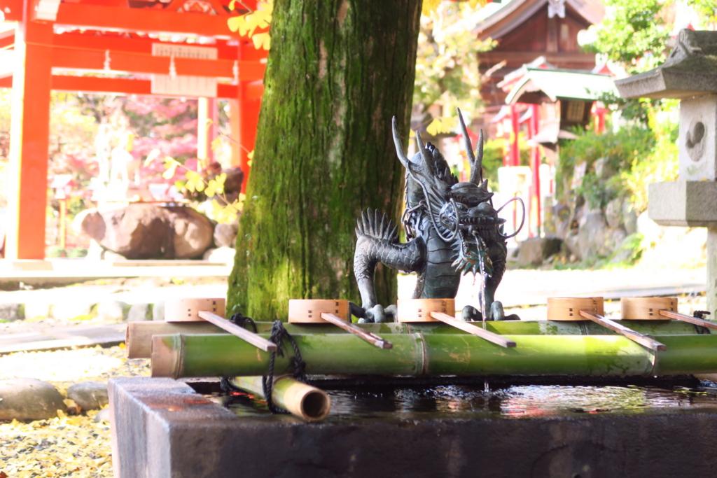 犬山・針綱神社の手水舎
